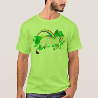 St. Patrick's Day Weasel T-Shirt