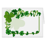 St. Patrick's Day Wedding Greeting Cards