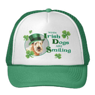 St. Patrick's Day Wheaten Terrier Mesh Hats