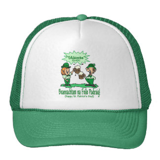 St Patricks Day Wish BEANNACHTAM NA FEILE PADEAIG Hats
