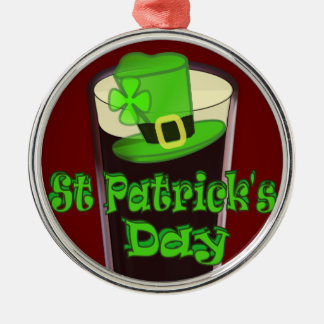 St Patricks Day with Hat Christmas Ornament