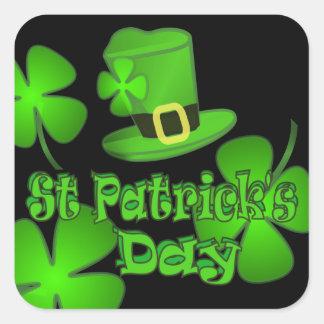 St Patricks Day with Hat Sticker