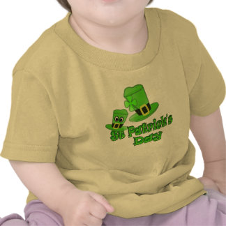 St Patricks Day with Hat T-shirts