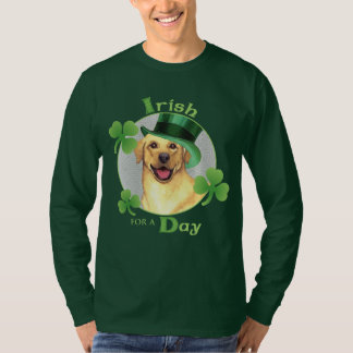 St. Patrick's Day Yellow Lab T-Shirt
