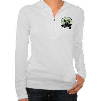 St Patricks Doxie Silhouette - Winston Hooded Sweatshirts