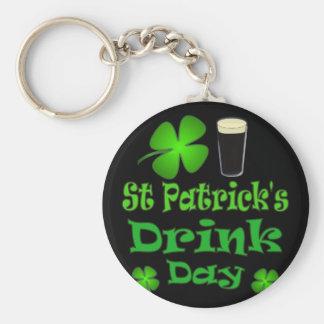St Patricks Drink Day - I'm Irish Key Ring