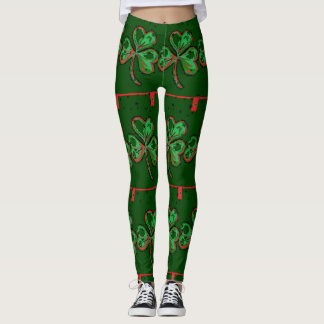 St. Patrick's Fun Leggings