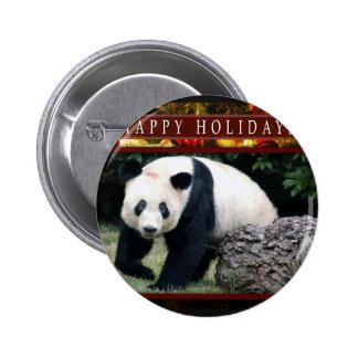 St. Patrick's Giant Panda Bear Buttons