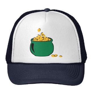 St. Patricks gold pot Hats