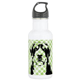 St Patricks Greater Swiss Mountain Dog Silhouette 532 Ml Water Bottle