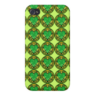 St. Patrick's Heart iPhone 4/4S Cover