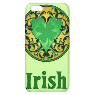 St. Patrick's Heart iPhone 5C Cases
