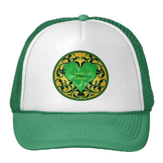 St. Patrick's Heart Lucky Charm Hats