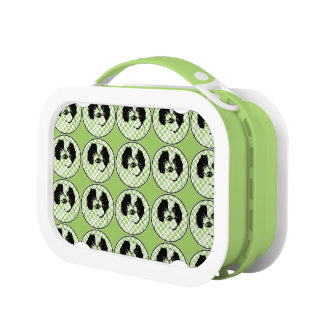 St Patricks - Japanese Chin Silhouette - Oreo Yubo Lunch Boxes