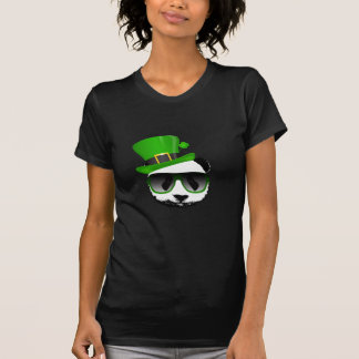 St. Patrick's Leprechaun Panda T-shirt