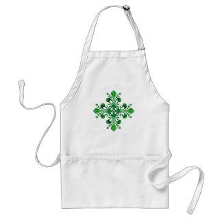 St. Patrick's Lucky Fleur de lis (2) Aprons