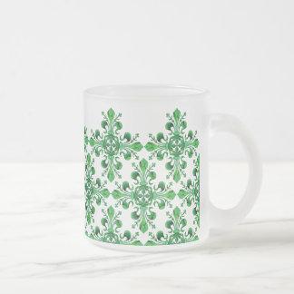 St. Patrick's Lucky Fleur de lis Coffee Mugs