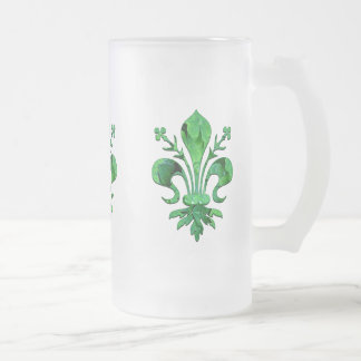 St. Patrick's Lucky Fleur de lis Mug