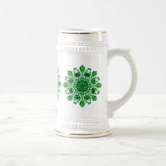 St. Patrick's Lucky Fleur de lis Stein Beer Steins