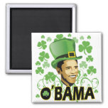 St Patrick's O'Bama 2009 Refrigerator Magnets