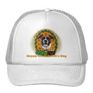St Patricks - Pot of Gold - Boxer - Vindy Trucker Hats
