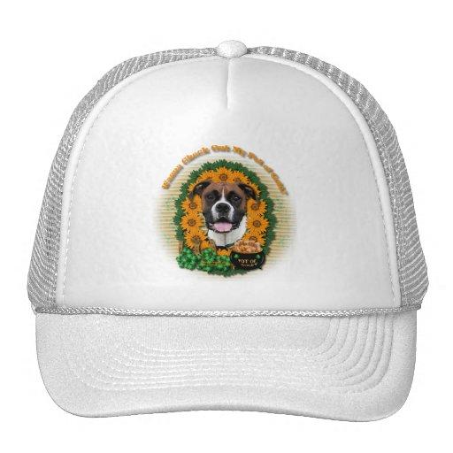 St Patricks - Pot of Gold - Boxer - Vindy Trucker Hat