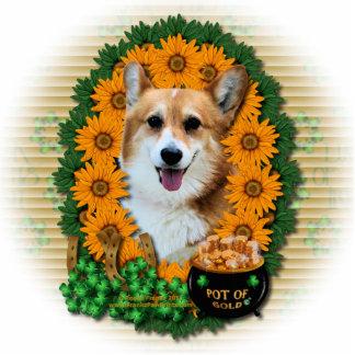 St Patricks - Pot of Gold - Corgi - Owen Photo Cutout