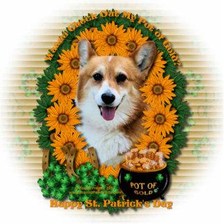 St Patricks - Pot of Gold - Corgi - Owen Cut Outs