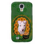 St Patricks - Pot of Gold - Pitbull - Petey Galaxy S4 Case