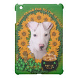 St Patricks - Pot of Gold - Pitbull - Petey Case For The iPad Mini