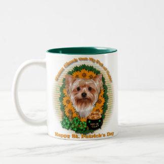 St Patricks - Pot of Gold - Yorkshire Terrier Mug