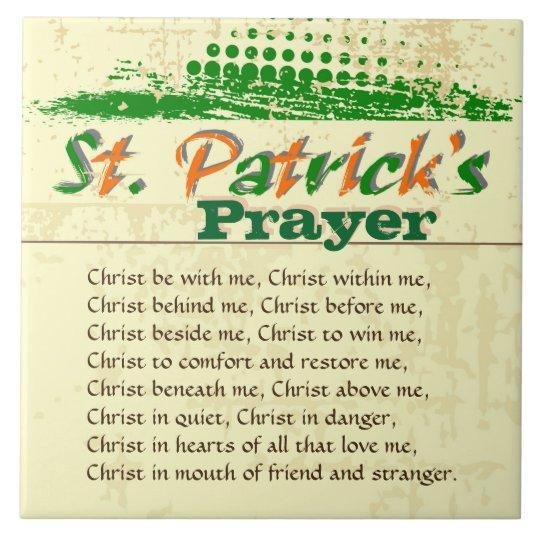 St. Patrick's Prayer, Christ Be With Me Large