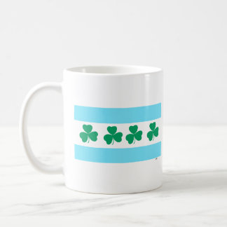 St Patrick's Shamrocks Green River Coffee Mug