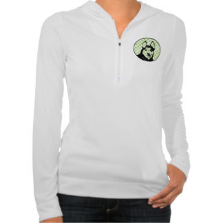 St Patricks - Siberian Husky Silhouette Sweatshirts
