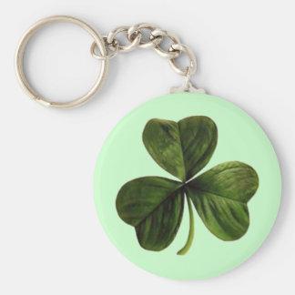 St. Patrick's Three Leaf Clover Keychains