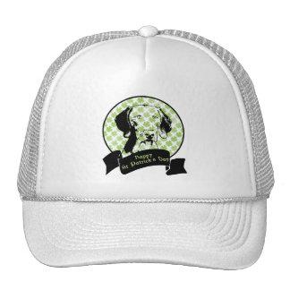 St Patricks - Weimaraner Silhouette Mesh Hat