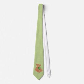 St. Pat's Bear Tie
