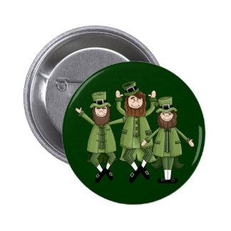 St Pats Dance Pinback Button