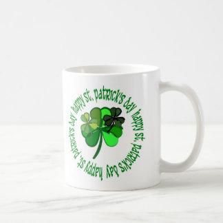 st. pats day coffee mug