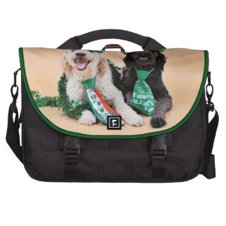 St Pats Day - GoldenDoodles - Sadie and Izzie Commuter Bags