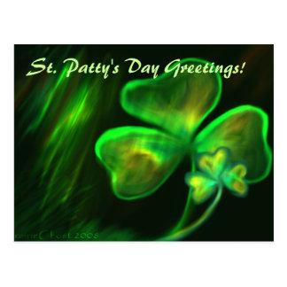 St. Pat's Postcard