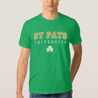 St Pats University Tees