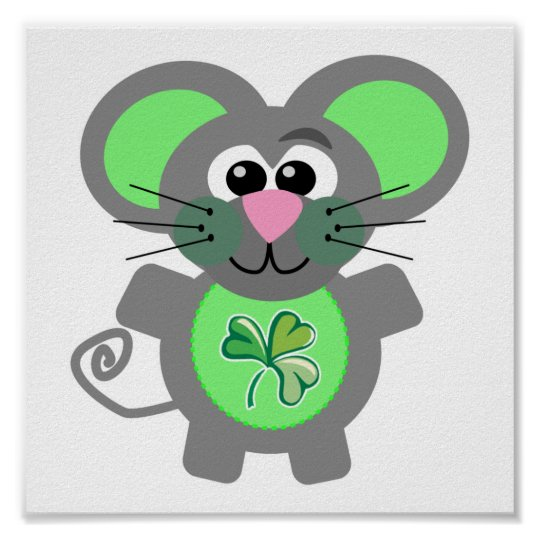 St. Patty's Day Goofkins mouse Poster