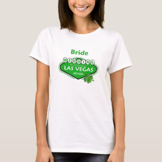St Patty BRIDE Las Vegas Wedding Shirt