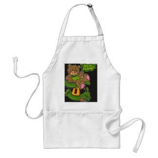 st patty day adult apron