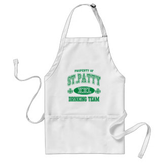 St Patty Drinking Team Standard Apron