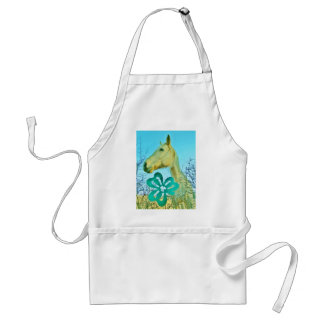 St patty s Day Horse Apron