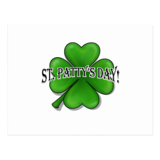 St Patty s Day Post Card