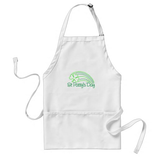 St Patty's Day Aprons