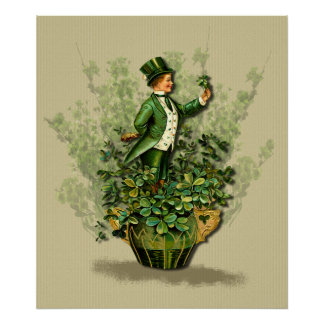 St. Patty's Day Gent- Irish Blessings Print